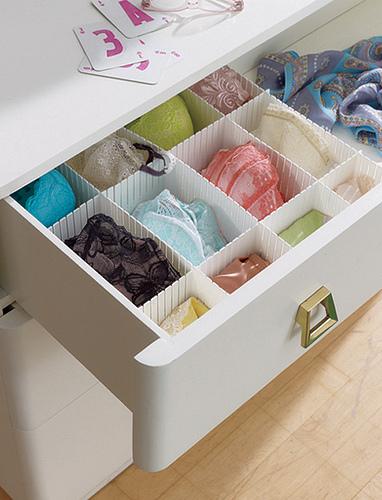 C mo organizar tus gavetas de ropa interior la comuna pink - Organizar ropa interior ...