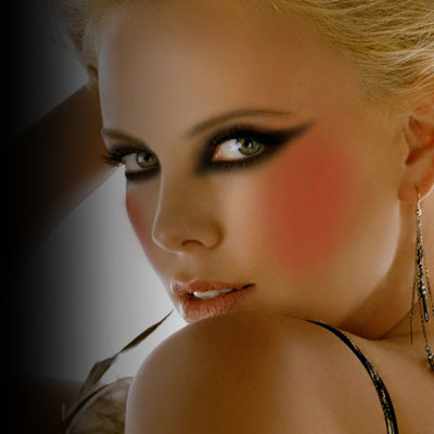 Maquillaje Ojos de gata La Comuna Pink