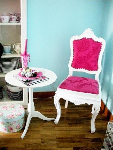 Decoraci n para el hogar habitaciones turquesa la for Habitacion blanca y turquesa