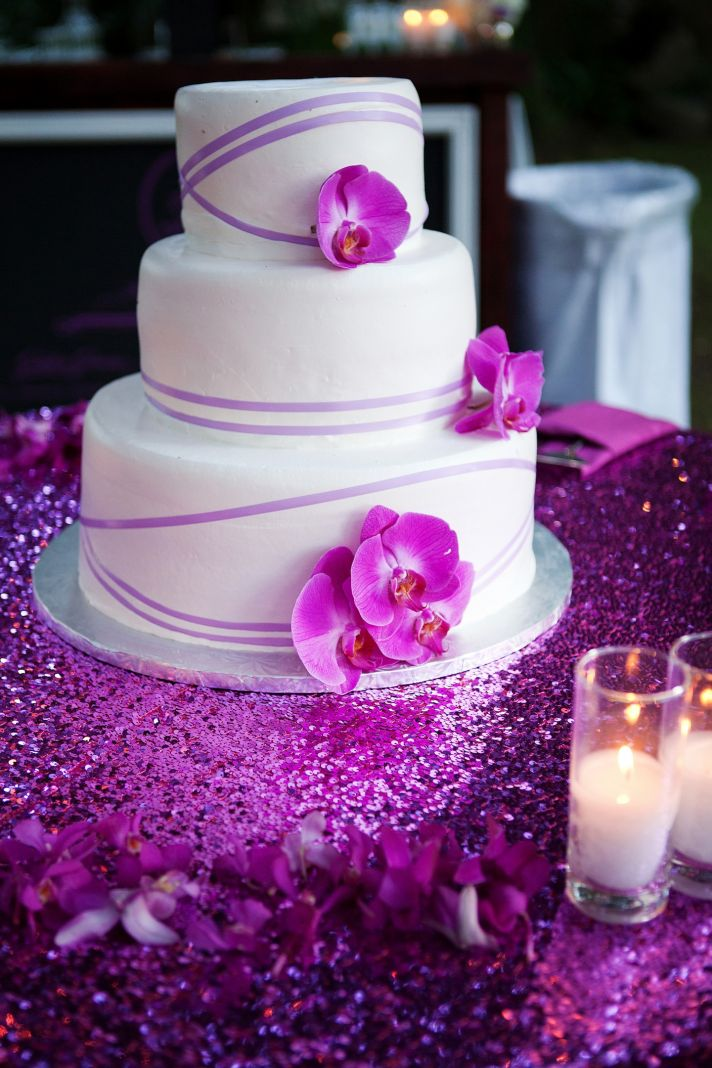 purple wedding cake decorations pasteles de bodas de ensue 241 o la comuna pink 18912