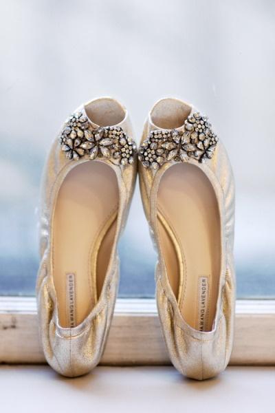 Vera Wang Bridal Shoes Flats