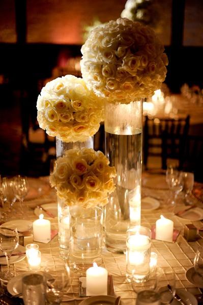 Centros de mesa para bodas la comuna pink - Centros de mesa elegantes ...
