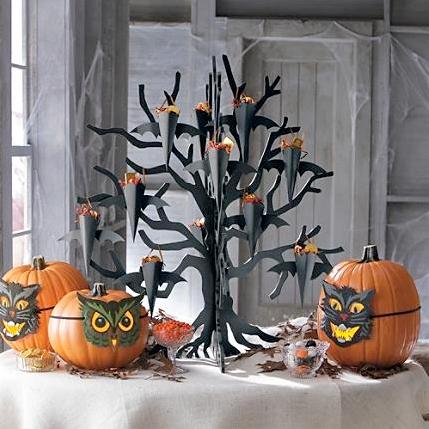 Decoraci n para el hogar inspirada en halloween la for Decoracion hogar halloween