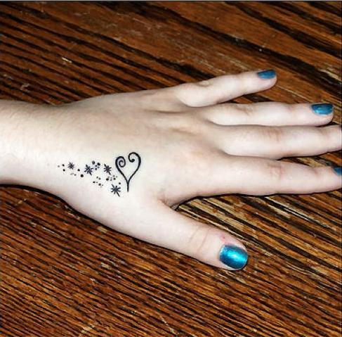 Linda Toos Access Cross Tattoo On Hand Near Thumb