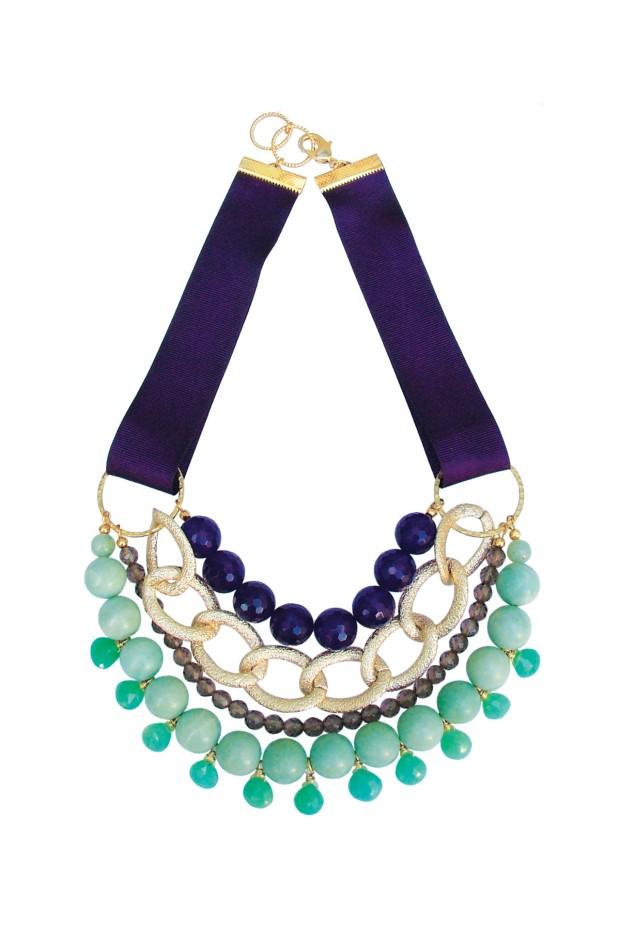 Purple-Agate-Amazonite-Necklace