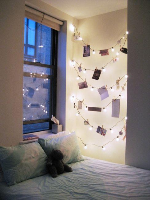 C mo decorar todo el a o con luces navide as la comuna pink - String light decoration ideas ...