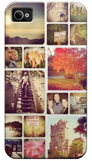 Puedes crear este cubreteléfono con tus fotos de Instagram. ¡Fabuloso!
