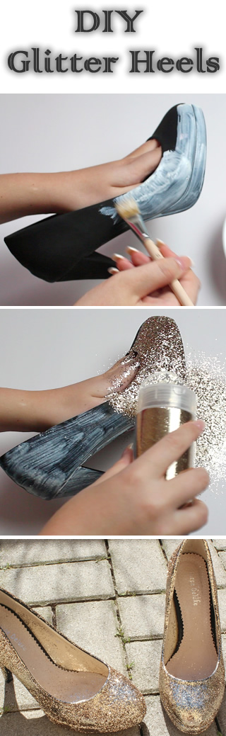 DIY-Glitter-Heels