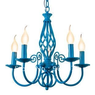 Free-Shipping-european-classic-blue-color-candle-pendant-lamp-chandelier-hotel-lighting-lighting-also-ship-for