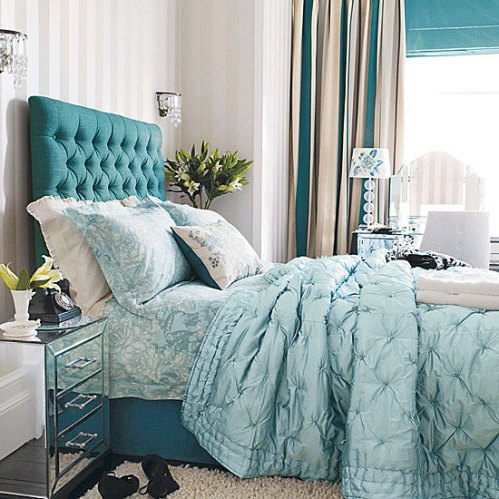 Turquoise+Tufted