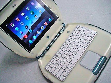 ¿Recuerdas las computadoras portátiles Mac de colores? Ahora puedes tener una contigo y solo necesitas integrarle tu Tablet.