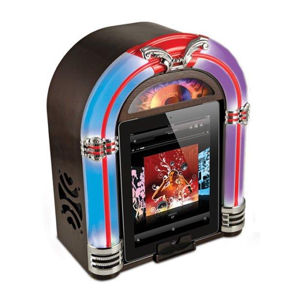 Esta radiola te permitirá escuchar música como en los tiempos de antes.