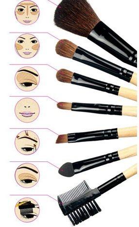 uso brochas para maquillaje