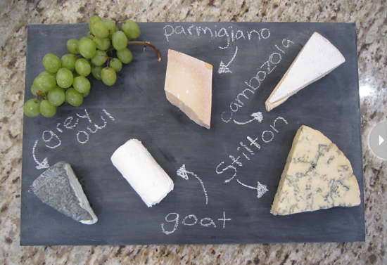 Se acabaron las preguntas sobre qué tipo de queso hay servido.