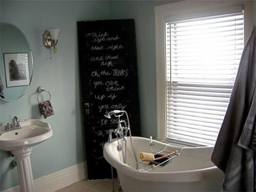 Perfecto para aquellas personas cuyas mejores ideas se le ocurren en el baño.