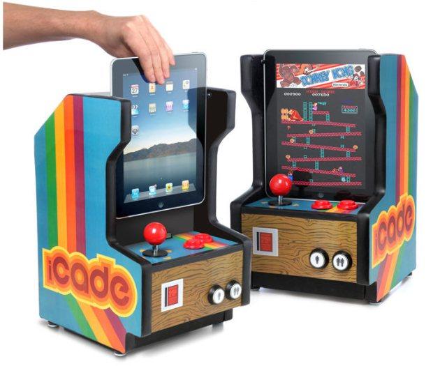 El iCade es perfecto si te gustan los juegos clásicos de video.