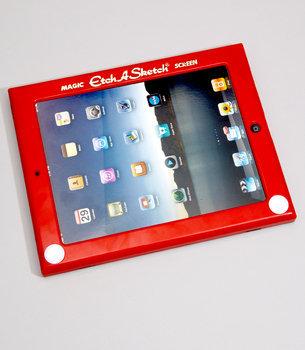 ¿Recuerdas este juego de cuando eras niña? Tráelo de vuelta al usarlo como marco para tu Tablet.