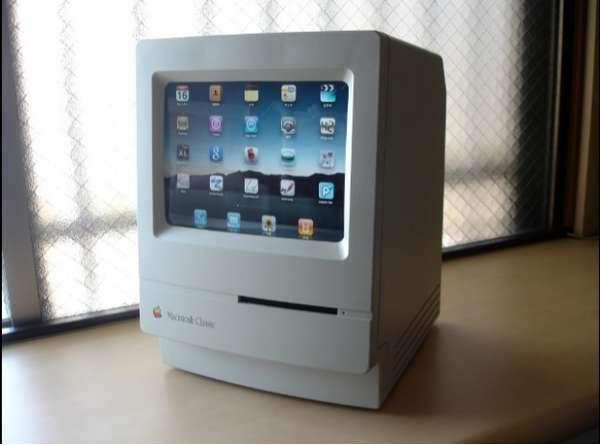 Si sientes nostalgia por la primera Mac en el mercado, este aditamento es una buena opción. Además es una pieza decorativa increíble.